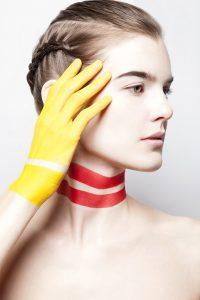 Makeup/Hair/Styling Vanessa Cogorno ||Photography Bart Peeters ||Model Romane Gerin @TheAgent