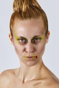 Makeup/Hair Vanessa Cogorno    Photography Luc Bollen   Model Dana Deliever