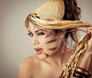 Makeup/Hair/Styling Vanessa Cogorno    Photography Daniel Doyen    Model Kukuli Morante