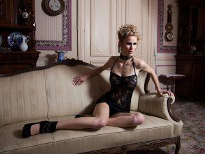 Makeup/Hair Vanessa Cogorno    Photography Lennart Knab   Model Dana Deliever    Designer QueenB