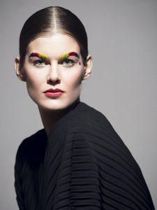 Makeup/Hair/Styling Vanessa Cogorno   Photography Geoffroy Culot   Model Romane Gerin @TheAgent